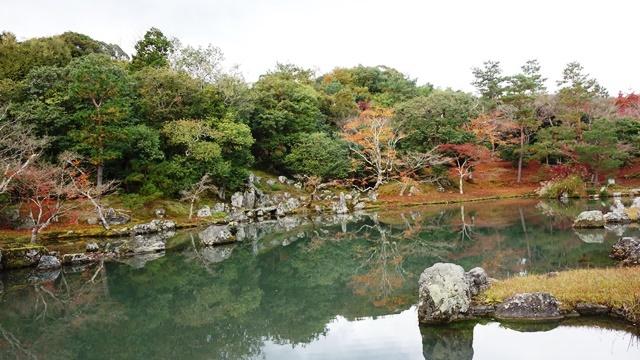 2020年秋の京都へ⑦天龍寺庭園をお散歩_f0146587_22110396.jpg
