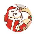 アドベントキャンドル最終週、猫サンタを探せ!_d0025294_18512600.png