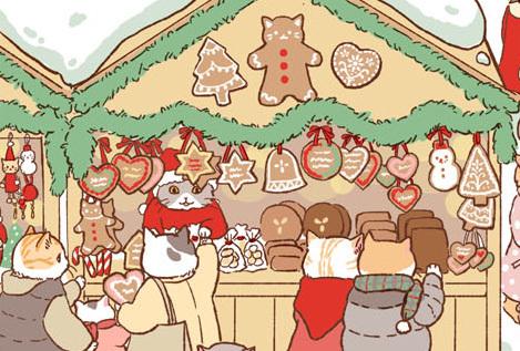 アドベントキャンドル最終週、猫サンタを探せ!_d0025294_18523444.jpg