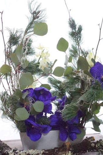 さぁお正月花へシフト!&クリスマスのちっちゃいお祝い_b0151911_23282346.jpg