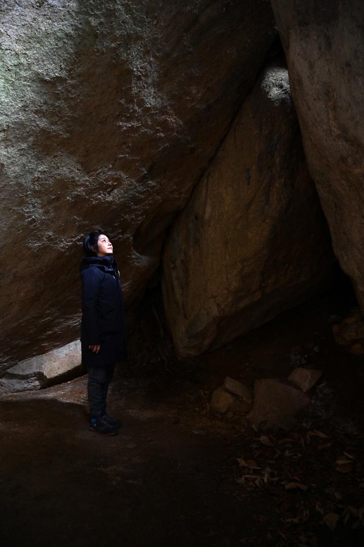 冬至 ー 金山巨石群へ_e0243332_22482646.jpg