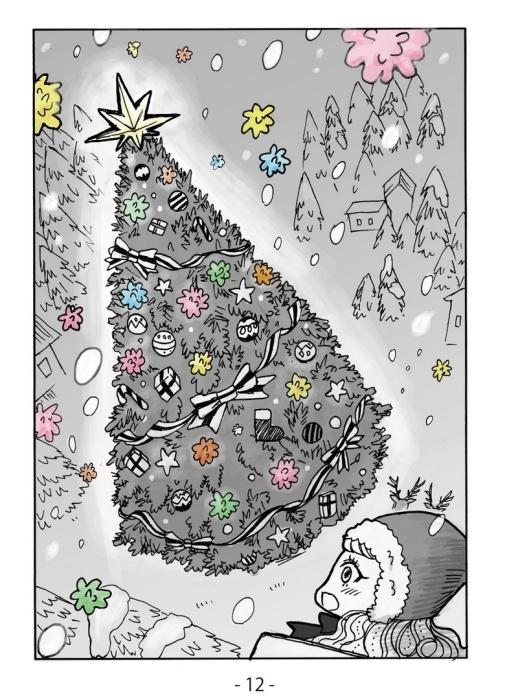 クリスマス漫画「クリスマス・キッズともうひとり」_f0228652_18191767.jpg