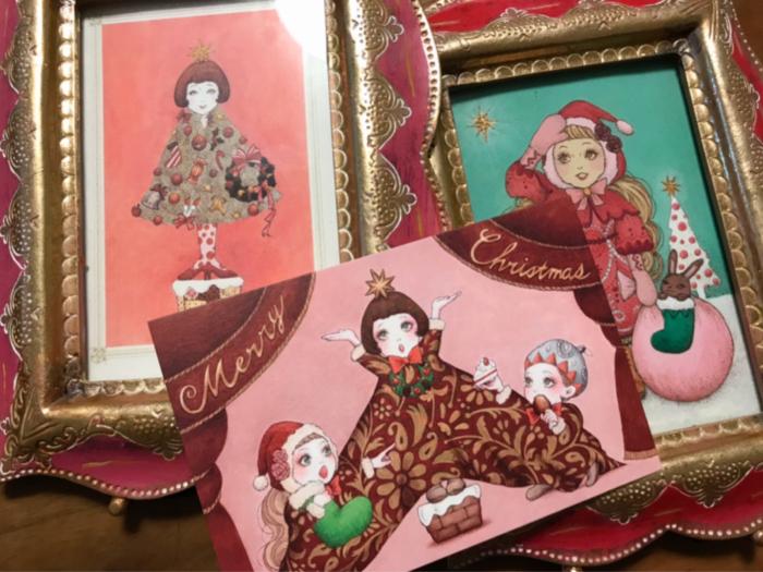クリスマス漫画「クリスマス・キッズともうひとり」_f0228652_18200340.jpg