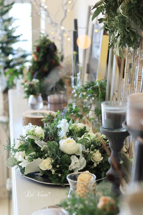 12月 Living flower 『Winter wreath』_e0158653_12030614.jpg