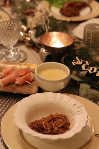 クリスマス2020 ささやかだけど 温かいテーブル♪_e0237680_11264196.jpg