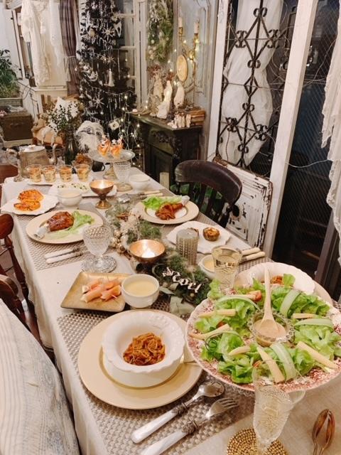 クリスマス2020 ささやかだけど 温かいテーブル♪_e0237680_11311370.jpg