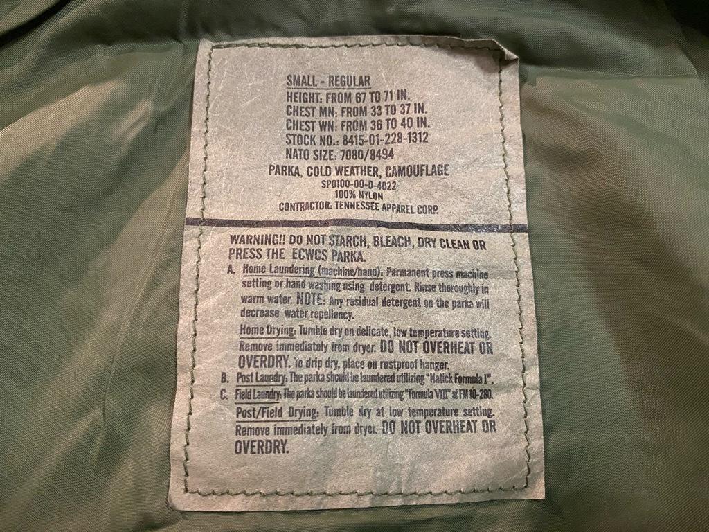 マグネッツ神戸店 1/3(日)ModernMilitary Item入荷! #2 US.Military GENⅠ E.C.W.C.S.Parka!!!_c0078587_20520299.jpg