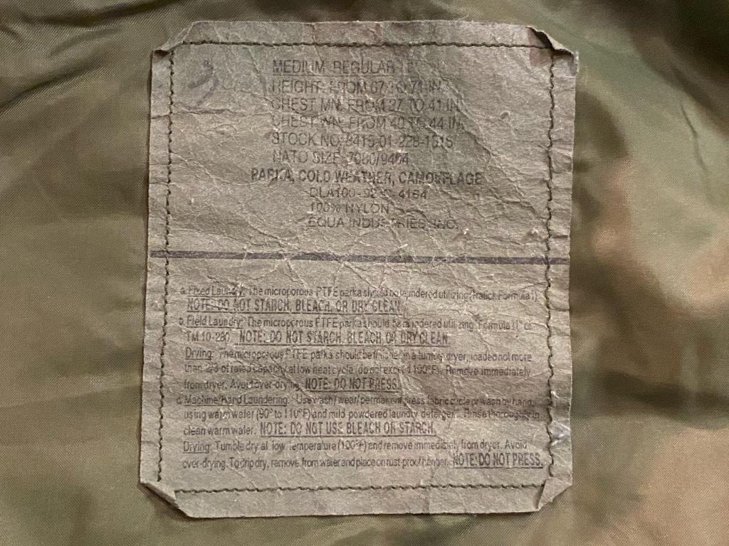 マグネッツ神戸店 1/3(日)ModernMilitary Item入荷! #2 US.Military GENⅠ E.C.W.C.S.Parka!!!_c0078587_20564900.jpg