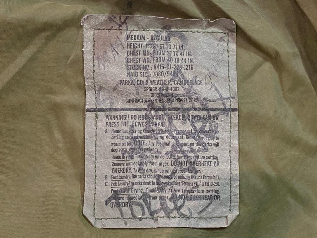 マグネッツ神戸店 1/3(日)ModernMilitary Item入荷! #2 US.Military GENⅠ E.C.W.C.S.Parka!!!_c0078587_20580247.jpg