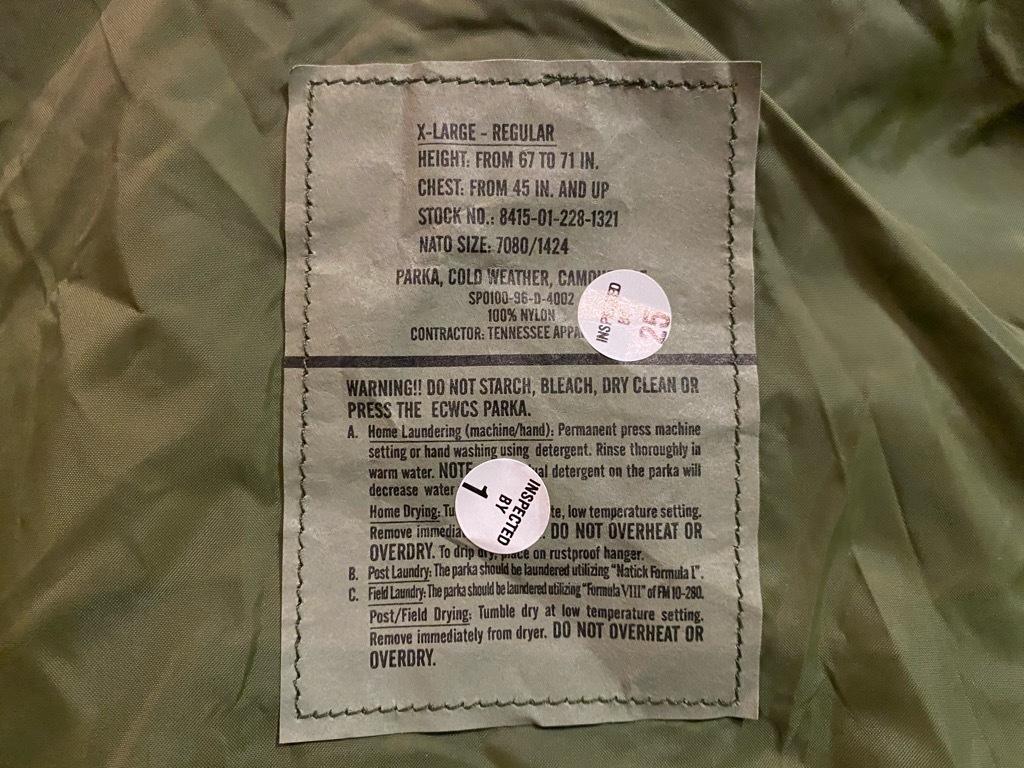 マグネッツ神戸店 1/3(日)ModernMilitary Item入荷! #2 US.Military GENⅠ E.C.W.C.S.Parka!!!_c0078587_21001978.jpg
