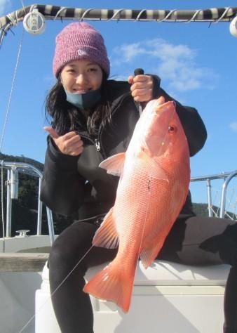 お正月用に高級魚を釣ろう!款璽丸_c0203337_22065830.jpg