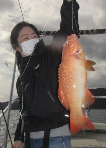 お正月用に高級魚を釣ろう!款璽丸_c0203337_22135445.jpg