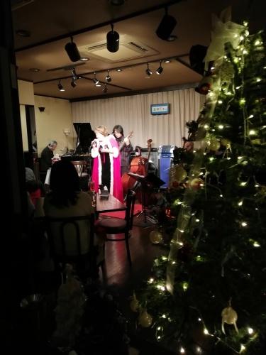 荒川和子クリスマスライブ_c0229062_19023581.jpg