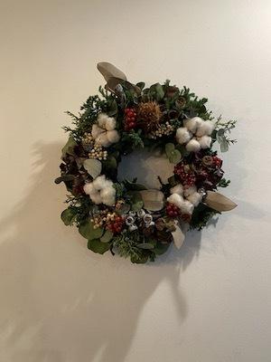 クリスマスの花あそび2020 後編_b0241386_21245065.jpg