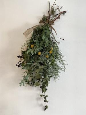 クリスマスの花あそび2020 後編_b0241386_21245589.jpg