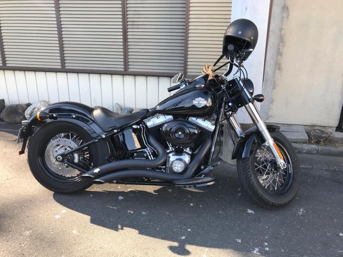 本日のバイク!_f0194657_18553847.jpg