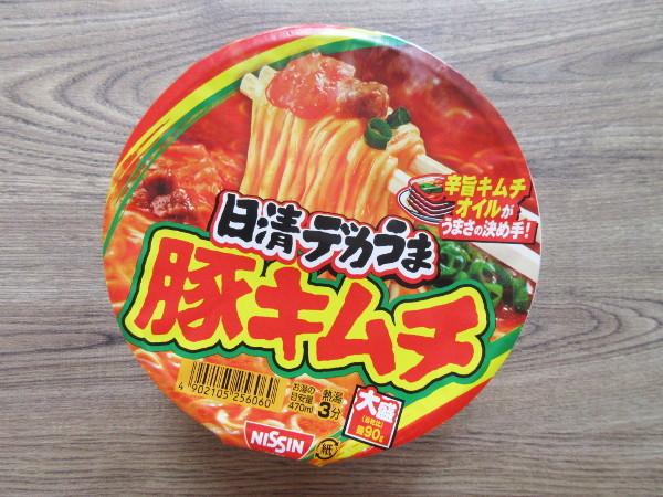 【日清食品】日清デカうま 豚キムチ_c0152767_16483291.jpg