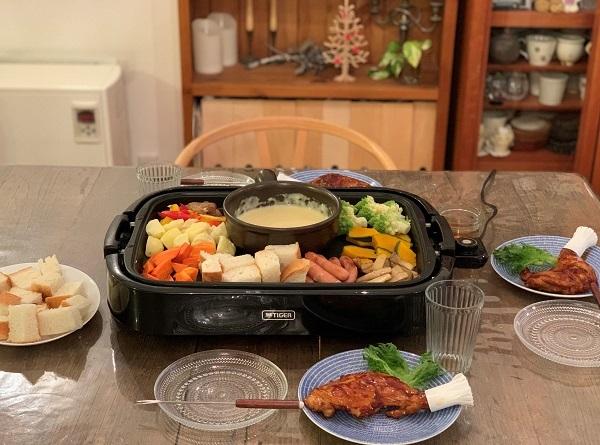 栗ごはんお弁当 と クリスマスのおうちごはん_d0249193_21101485.jpg