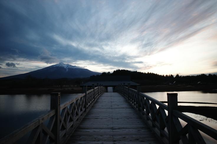 Go to トラベル in 青森県 その30 ~ 鶴の舞橋_a0287336_17061016.jpg