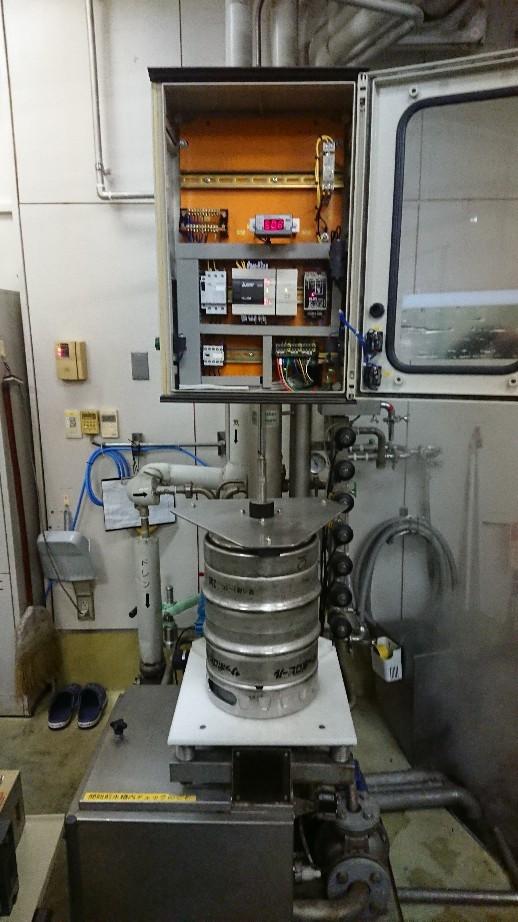 地ビール用樽洗い機の..._d0174738_18570915.jpg