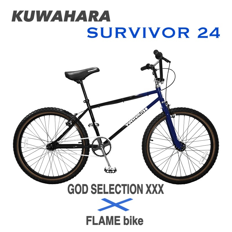 GOD SELECTION XXX × FLAME bike KUWAHARA SURVIVOR 24_e0188759_17564350.jpg