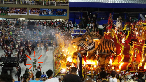 【ブラジルでの活動◉まとめアーカイヴ】リオのカーニバルこと、カルナヴァル・リオでの活動写真_b0032617_14415979.jpg