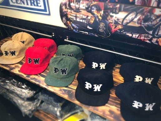 "〜""PW CHAIN STITCH EMBROIDERY CORDUROY CAP\""〜_d0067332_12580709.jpeg"