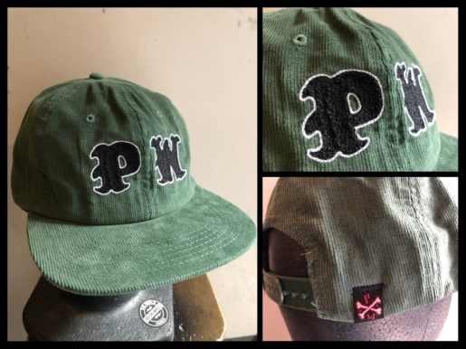 "〜""PW CHAIN STITCH EMBROIDERY CORDUROY CAP\""〜_d0067332_12592956.jpeg"