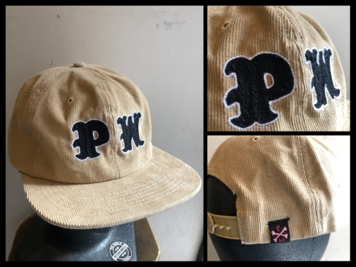 "〜""PW CHAIN STITCH EMBROIDERY CORDUROY CAP\""〜_d0067332_12594898.jpeg"