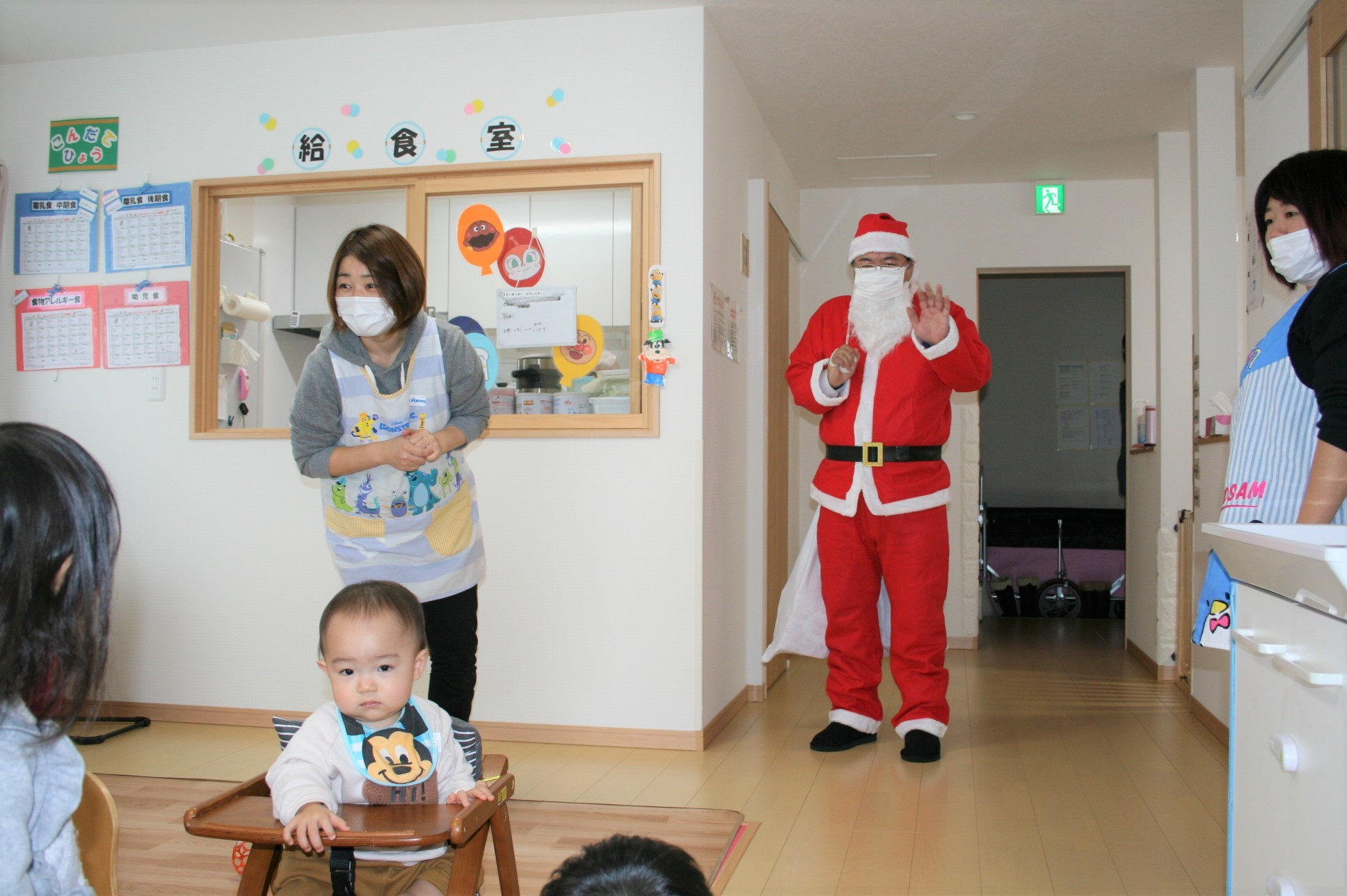 よこて卸町園『クリスマス会』を開催しました。 _f0141477_09461983.jpg