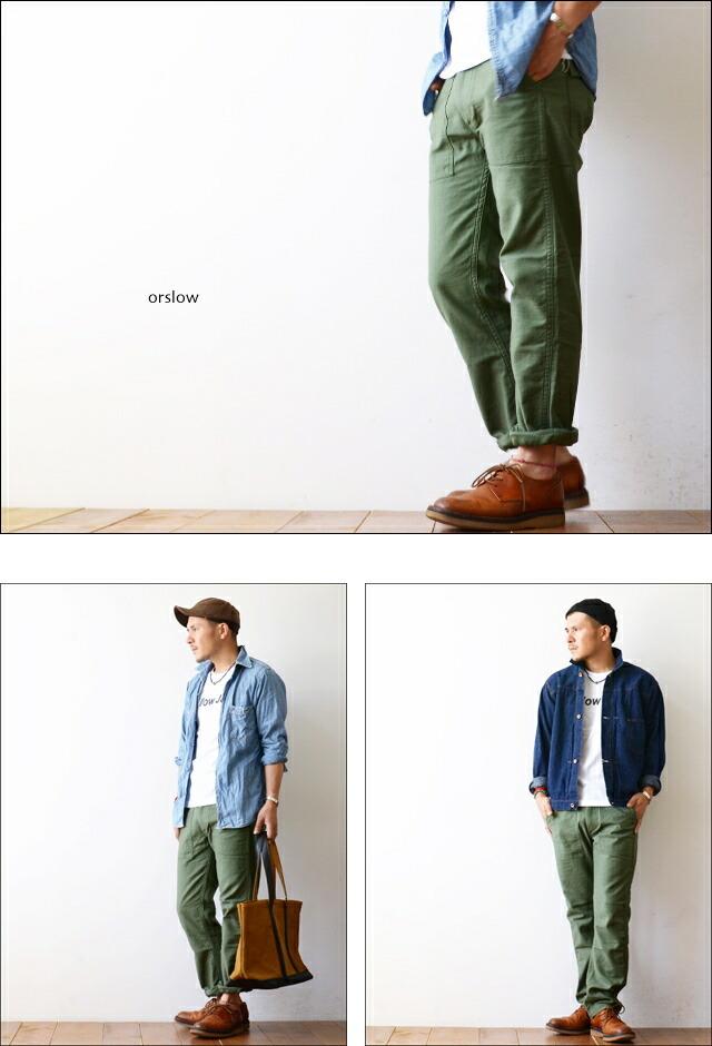 orslow[オアスロウ] SLIM FIT FATIGUE PANTS [01-5032-16] スリムフィット ファティーグパンツ MEN\'S _f0051306_16512850.jpg