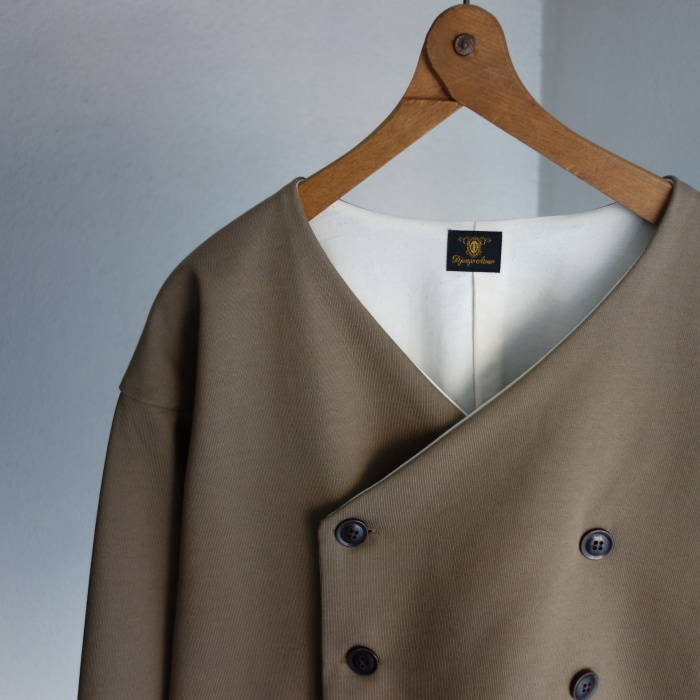 3月の製作 / classic volendam no-collar jacket_e0130546_17281503.jpg