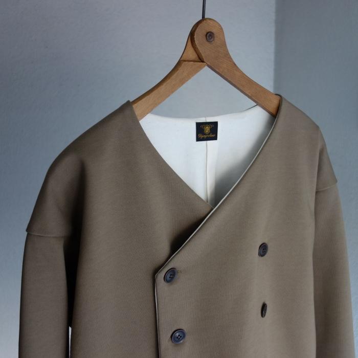 3月の製作 / classic volendam no-collar jacket_e0130546_17284468.jpg