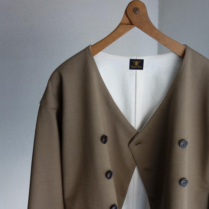3月の製作 / classic volendam no-collar jacket_e0130546_17294078.jpg