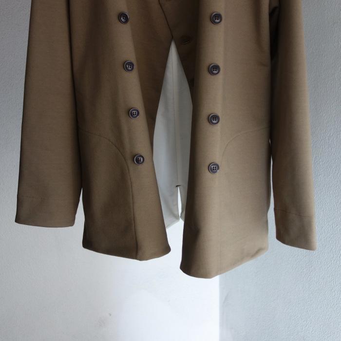 3月の製作 / classic volendam no-collar jacket_e0130546_17325633.jpg