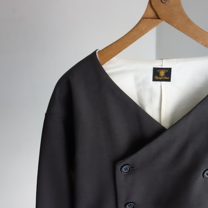 3月の製作 / classic volendam no-collar jacket_e0130546_17360096.jpg