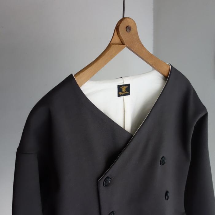 3月の製作 / classic volendam no-collar jacket_e0130546_17361839.jpg