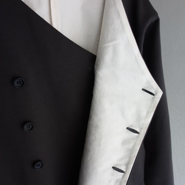 3月の製作 / classic volendam no-collar jacket_e0130546_17365154.jpg