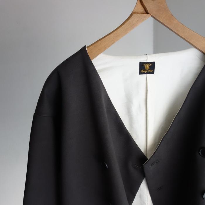 3月の製作 / classic volendam no-collar jacket_e0130546_17372184.jpg