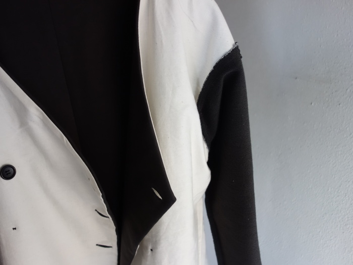 3月の製作 / classic volendam no-collar jacket_e0130546_17381376.jpg