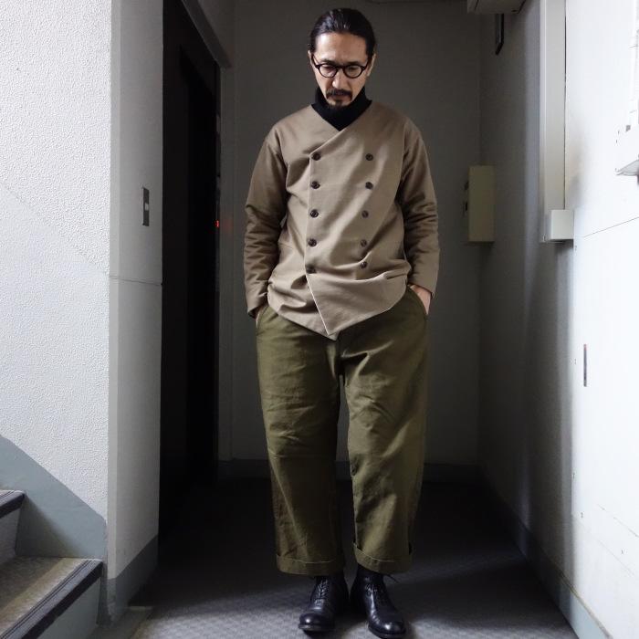 3月の製作 / classic volendam no-collar jacket_e0130546_17411378.jpg