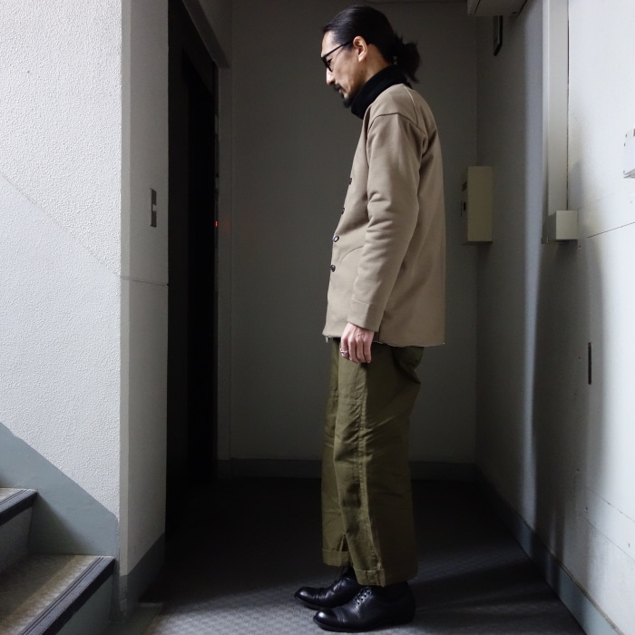 3月の製作 / classic volendam no-collar jacket_e0130546_17413065.jpg