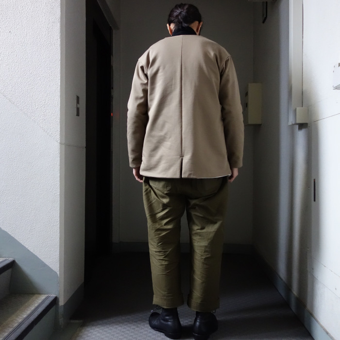 3月の製作 / classic volendam no-collar jacket_e0130546_17415283.jpg