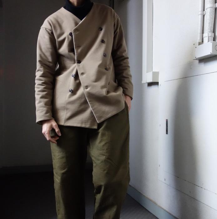 3月の製作 / classic volendam no-collar jacket_e0130546_17423574.jpg