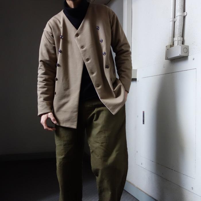 3月の製作 / classic volendam no-collar jacket_e0130546_17425077.jpg