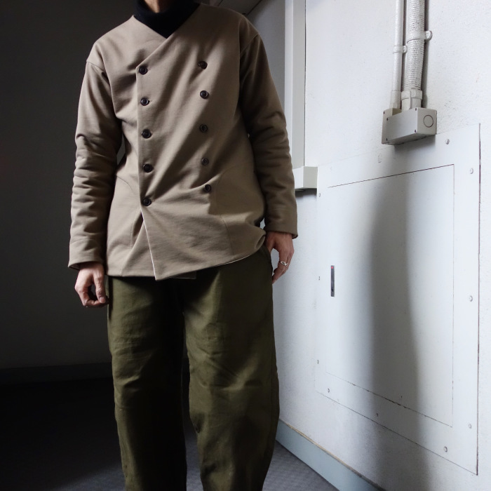 3月の製作 / classic volendam no-collar jacket_e0130546_17430514.jpg