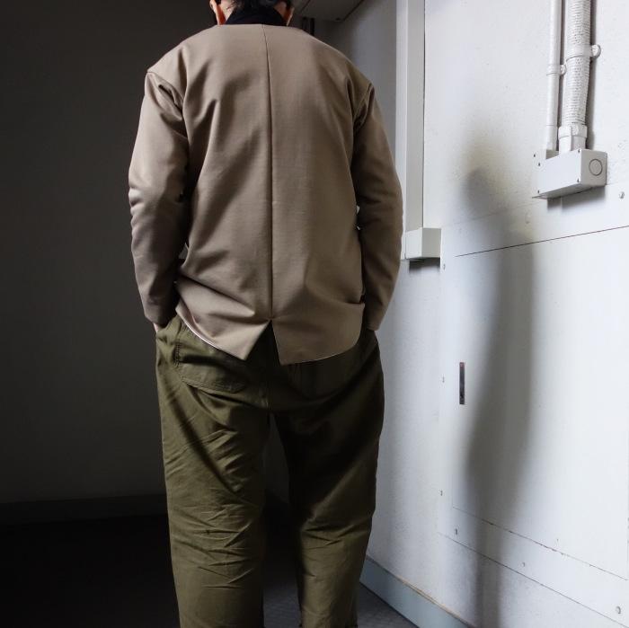 3月の製作 / classic volendam no-collar jacket_e0130546_17431913.jpg