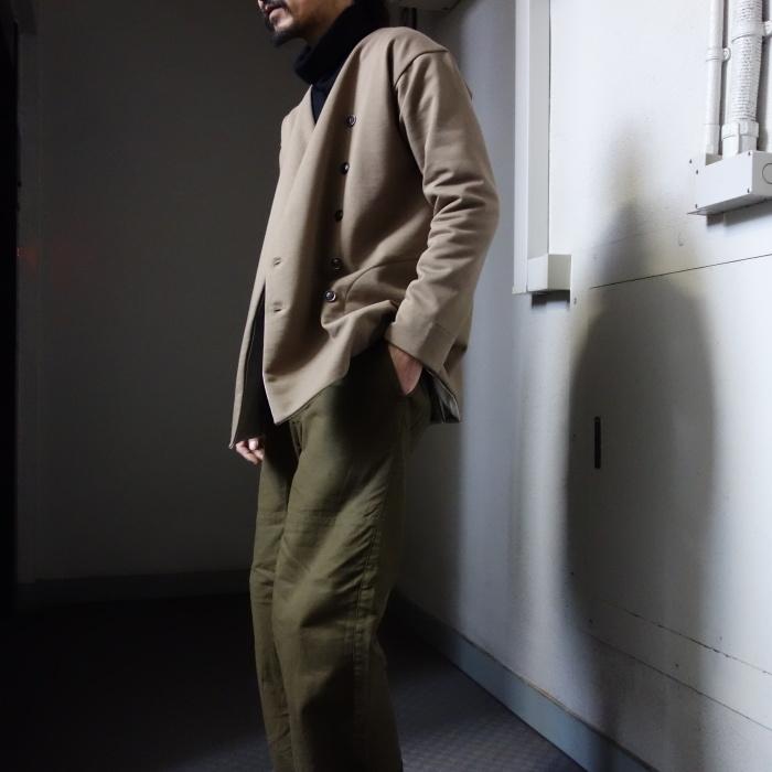 3月の製作 / classic volendam no-collar jacket_e0130546_17433101.jpg