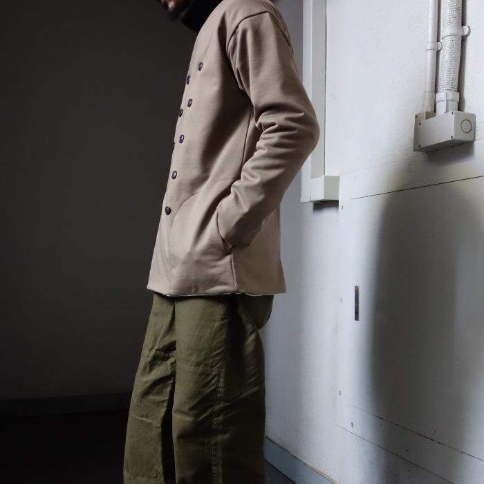 3月の製作 / classic volendam no-collar jacket_e0130546_17434723.jpg