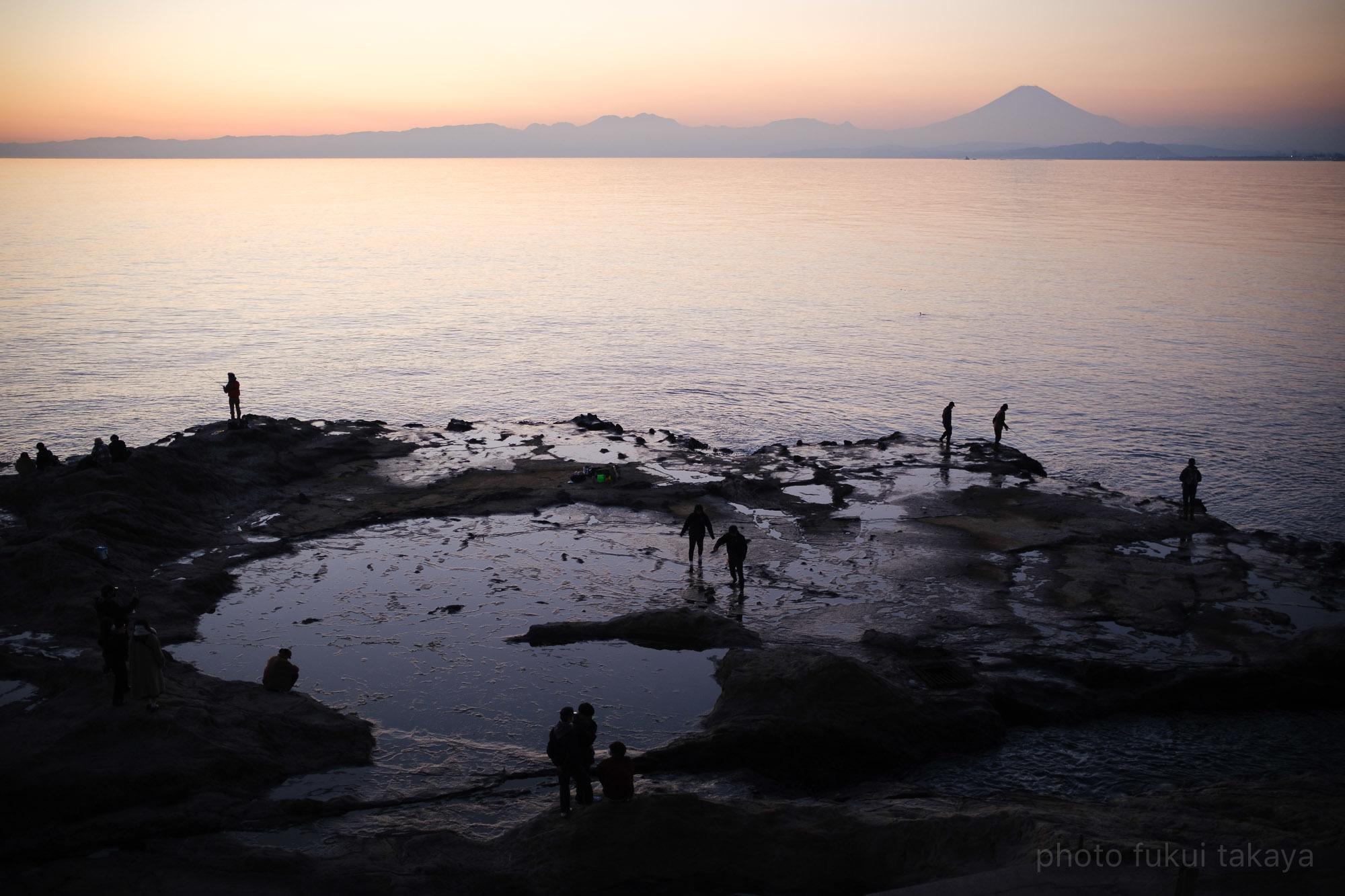 江ノ島より、富士山をのぞむ_e0044885_11313553.jpeg